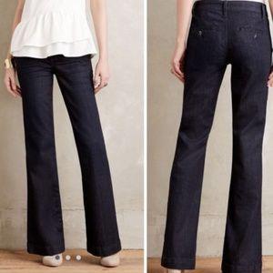 Anthropologie Pilcro Letterpress Trouser Jeans 27